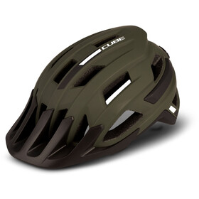 Cube Rook Helm oliv/grün